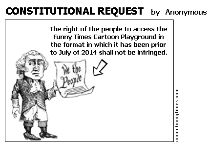 CONSTITUTIONAL REQUEST by Anonymous