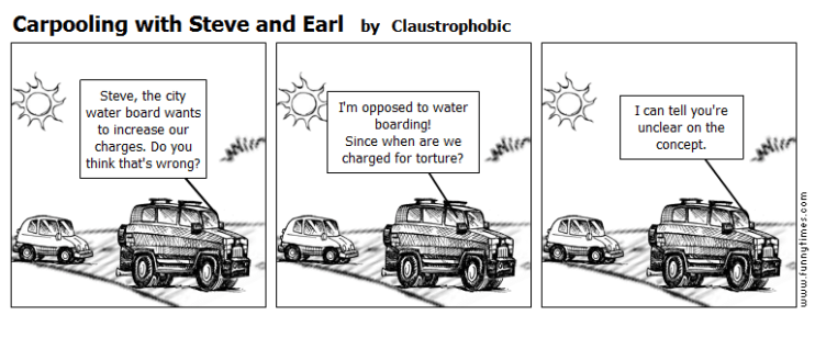 Carpooling with Steve and Earl by Claustrophobic