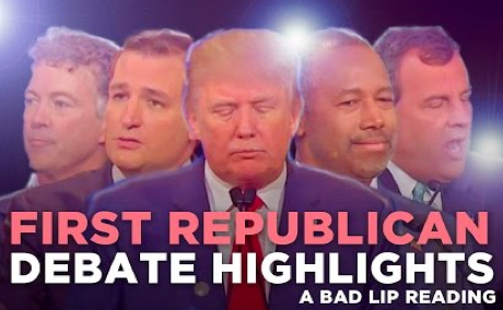 Republican Debate - Bad Lip Reading