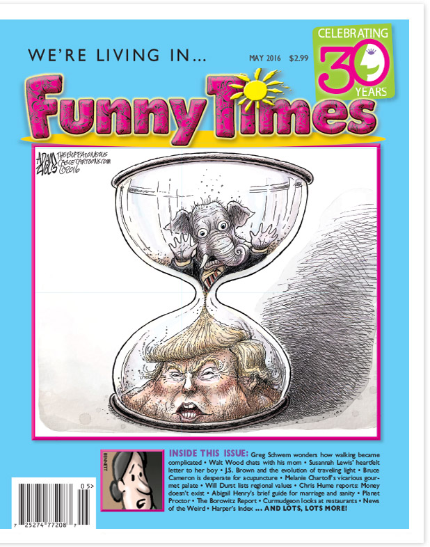 May 2016 Issue Cover