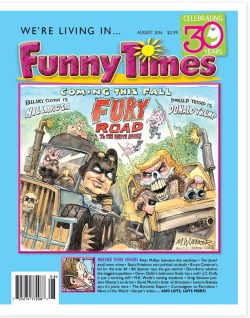 Funny Times August 2016 Issue