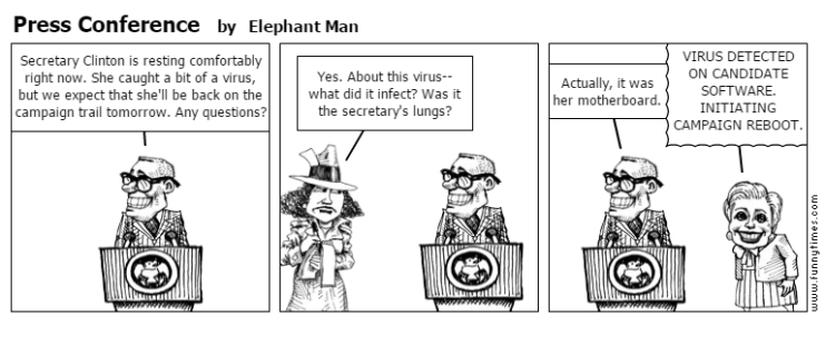 Press Conference by Elephant Man