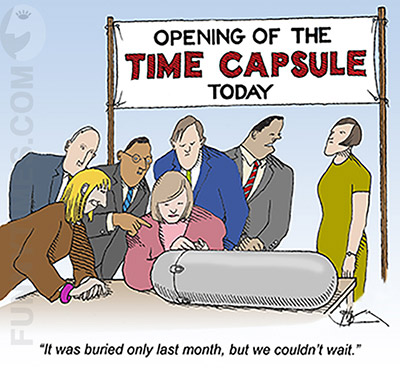 time capsule Archives - The Funny Times