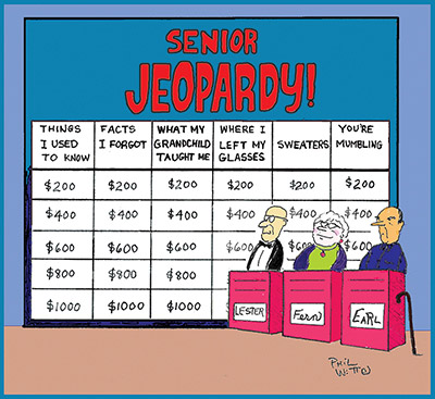 Phil Witte play Senior Jeopardy