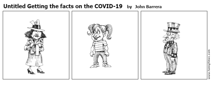 Untitled Getting the facts on the COVID- by John Barrera