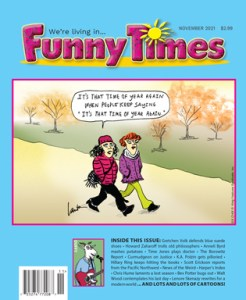 Funny Times November 2021 Issue