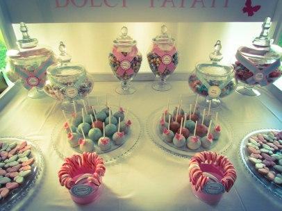 dessert table roma