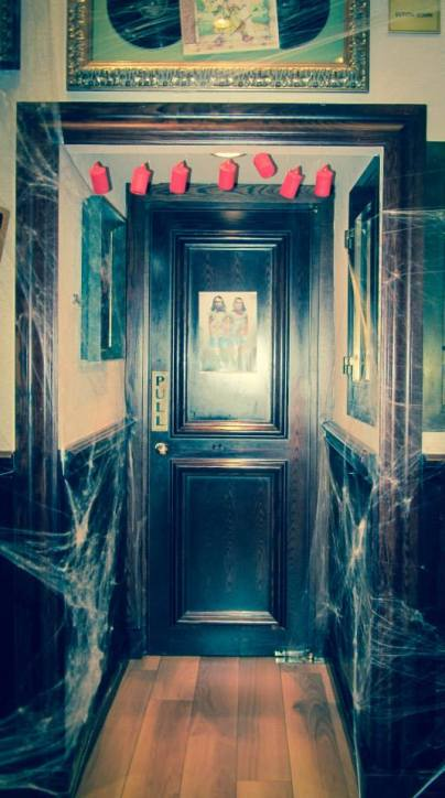halloween, circo, roma , circo degli orrori, allestimento , scenografia