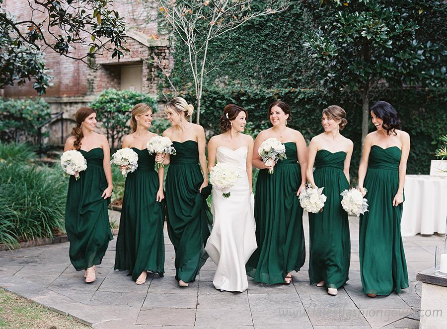 green bridesmaid dresses  Fashion Trends