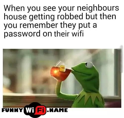 WiFi Names Memes