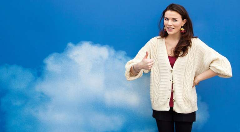 Aisling Bea and Sharon Horgan: Happy