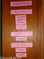Creating a Daily Schedule for Preschoolers