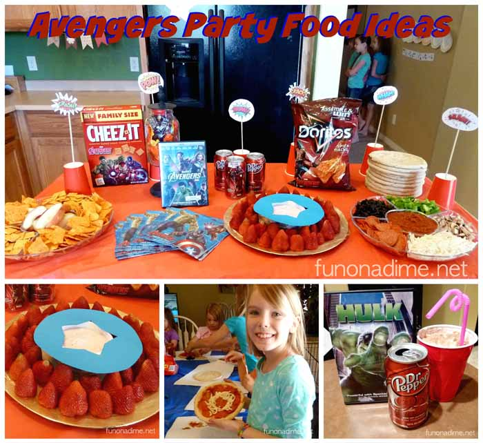 Avengers Party Food Ideas