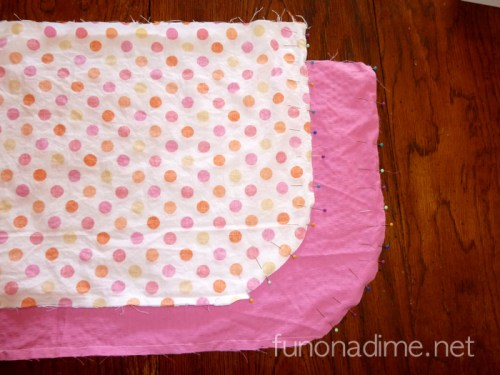 How to make a reversible stuffed toy bag