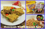 Homemade M&M® Granola Bars