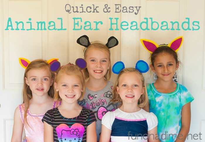 How to make Animal Ear Headbands