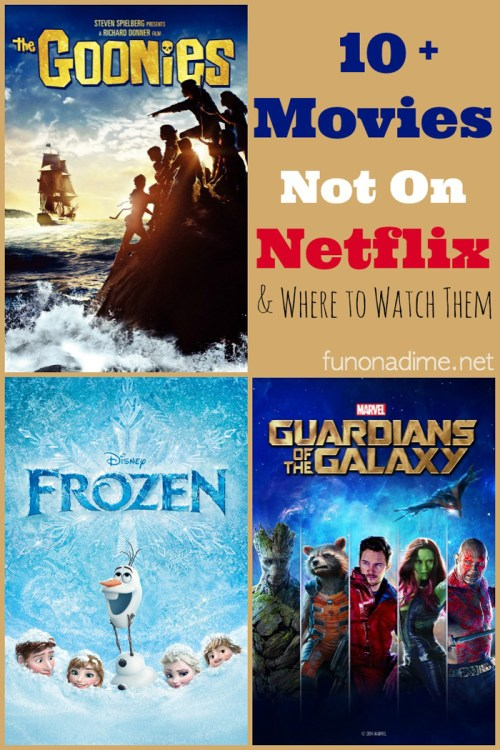 Movies you won't find on netflix