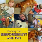 Teaching Kids Responsibility with Pets