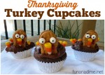 Nutter Butter Thanksgiving Turkey Cupcakes