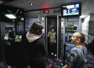 Laser Maze Challenge at Rab's Country Lanes