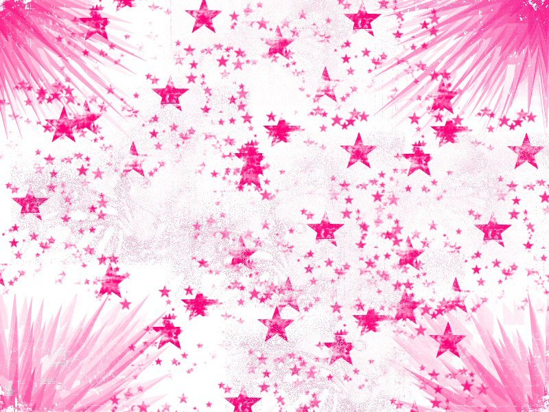 Light Pink Roses And Hearts Background