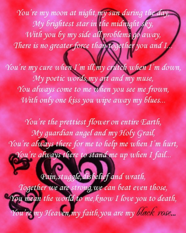 strong love poems for him