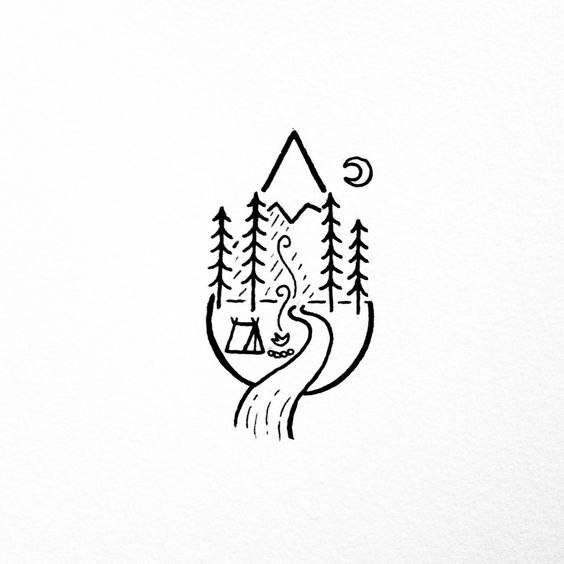 Маленькие рисунки для срисовки (30 картинок)