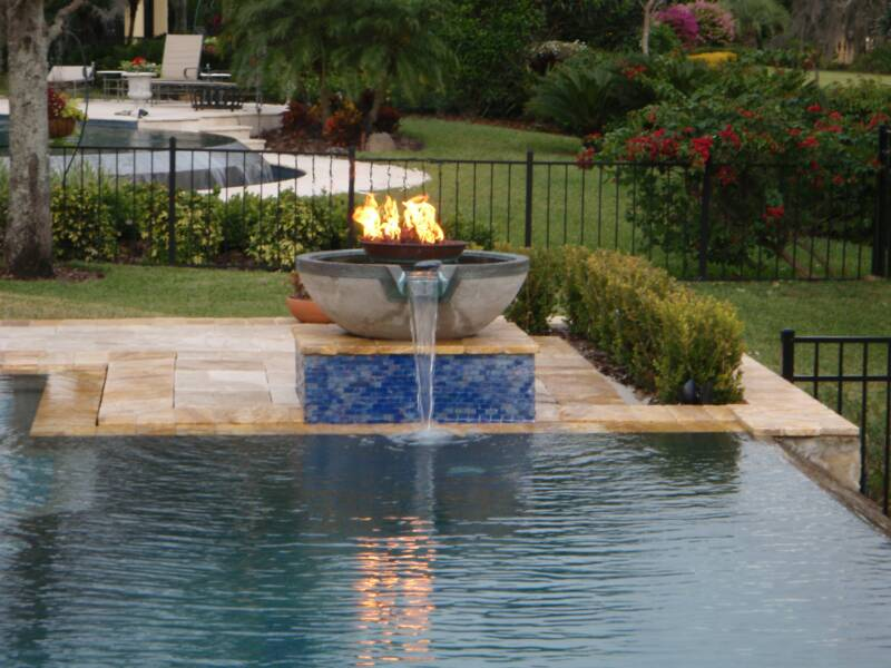 Photo GallerySolar Hot Water Solar Pool  Fire Pit
