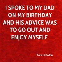Birthday Quotes for Self