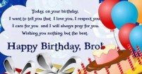 Birthday Quotes for elder Brother from Sister