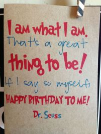 Birthday Quotes for ourselves