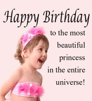 Birthday Quotes for Toddler Girl