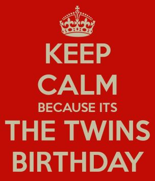 Birthday Quotes for Twins brothers
