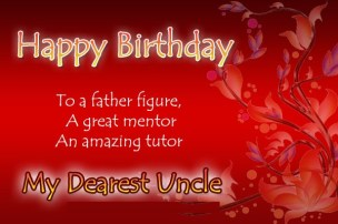 Birthday Quotes for Uncle