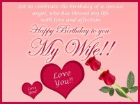 Birthday Quotes for wife romantic