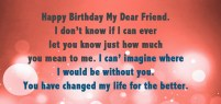 Birthday Quotes for would be