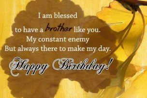 Funny Birthday Quotes for elder Brother
