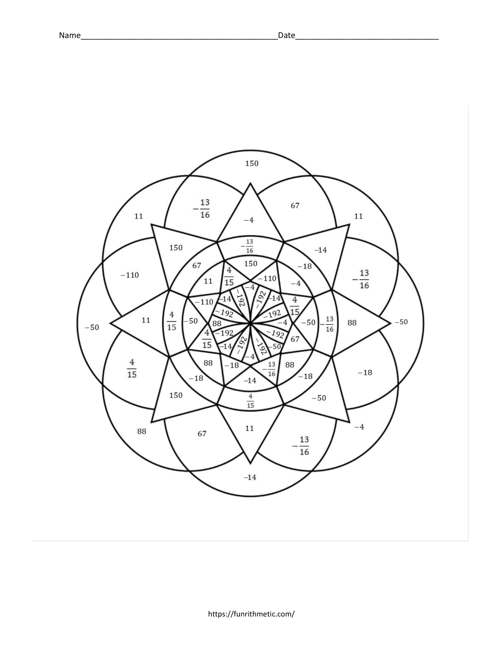 Algebra 1 Color by Number Skills Bundle: 21 Activities