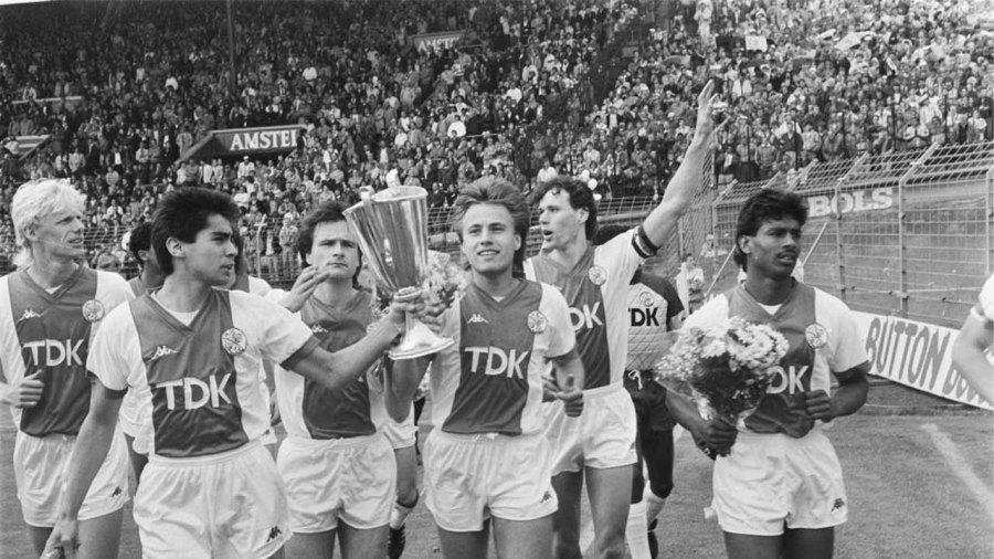 Ajax is the 2nd treble winner club