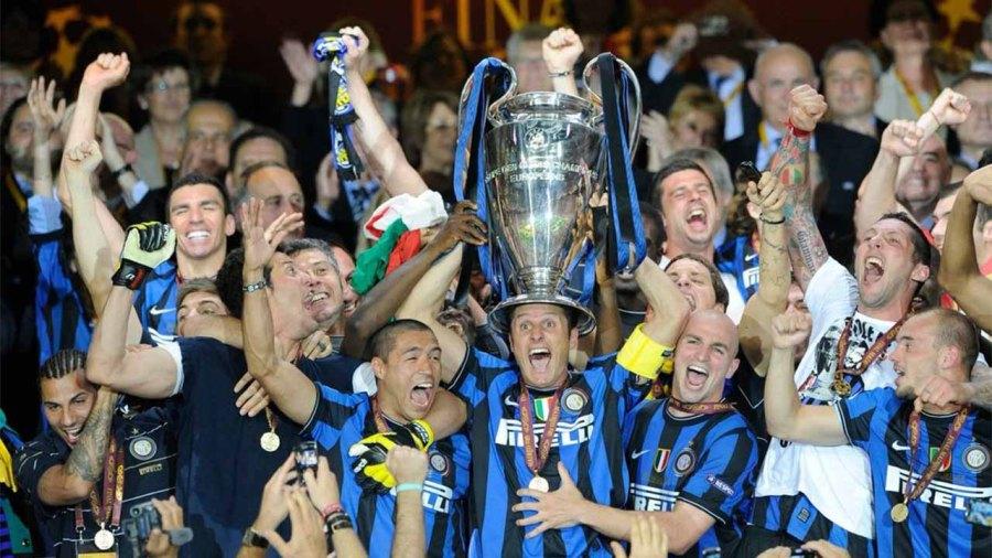 Inter Milan's historic treble winning moment 2009-10
