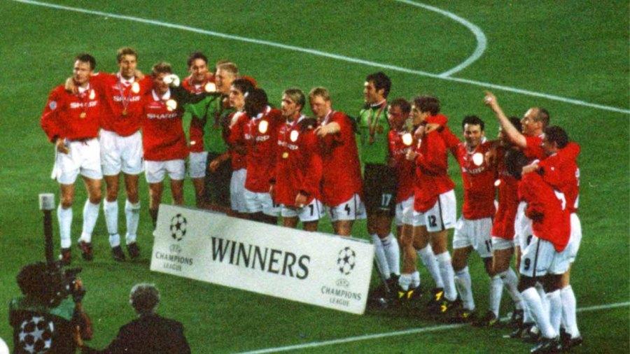 Manchester united treble winner of 1998-99 season
