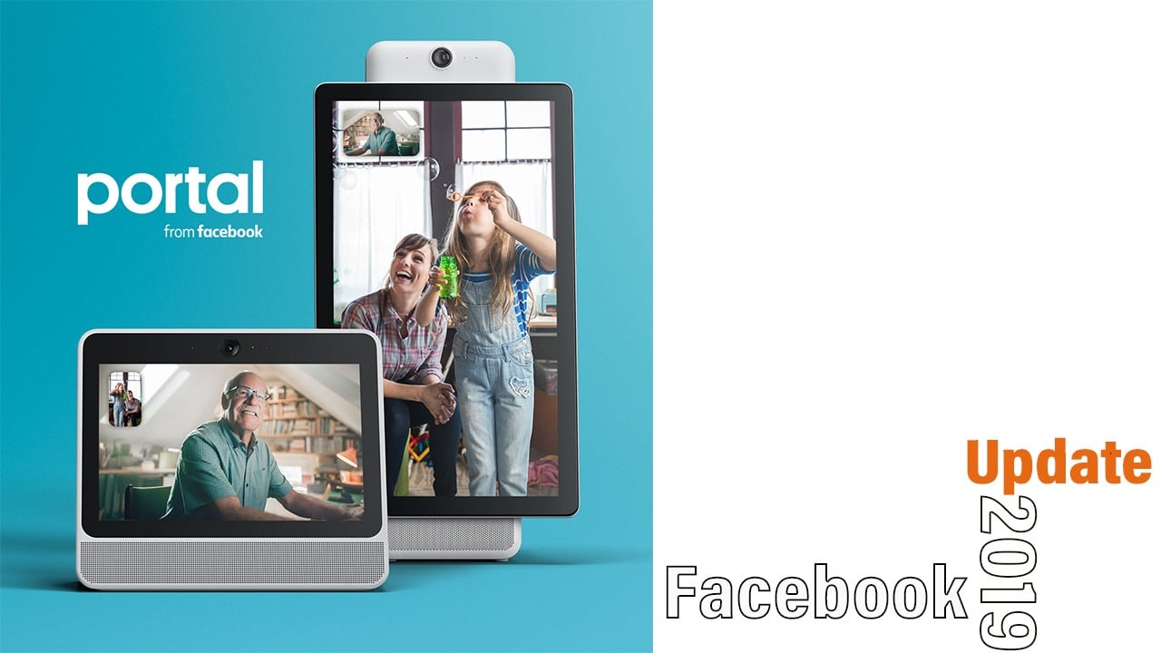 Facebook portal new update