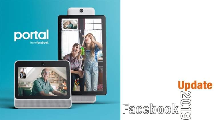 Facebook portal new update