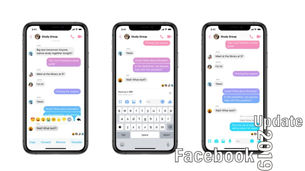 facebook messenger new features