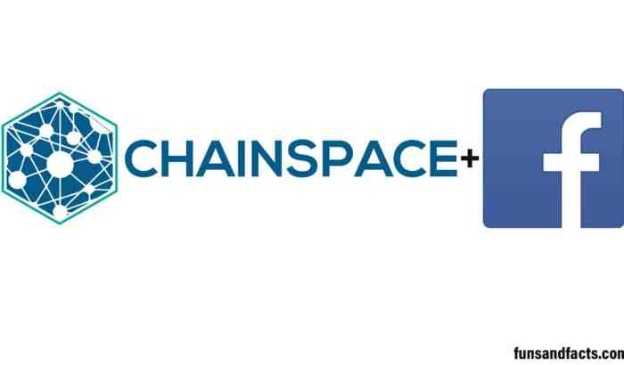 Chainspace a Cryptocurrency based company owned by facebook