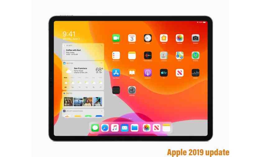 New iPadOS announced by Apple , from now they will use iPadOS for ipad