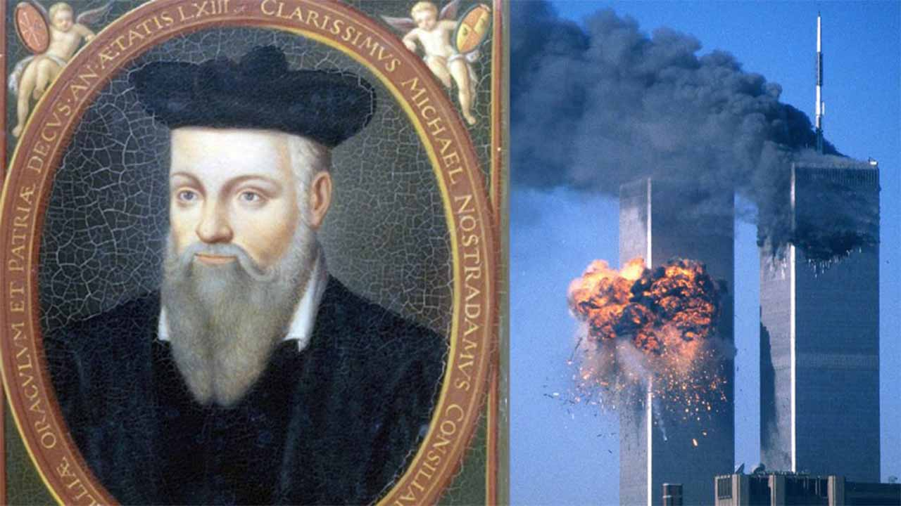 Nostradamus predictions about the 9/11 twin tower attack