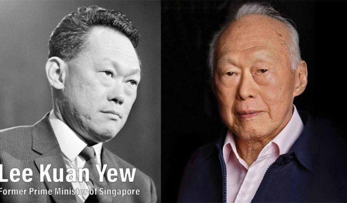 Lee Kuan Yew : Former Prime Minister of Singapore