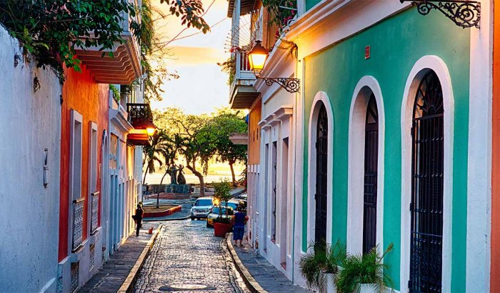 Amazing colorful cities - Old San Juan, Puerto Rico