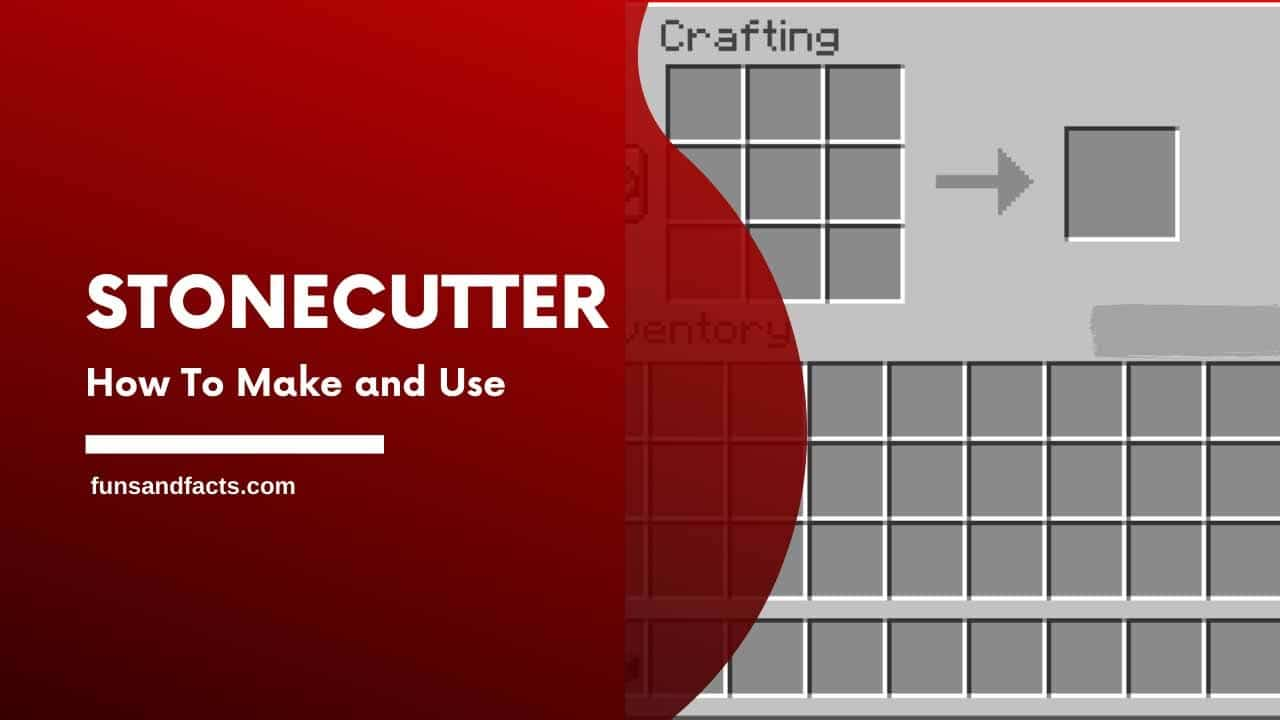 How to make a stonecutter